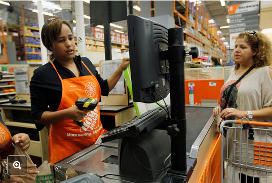 Via New York Times http://www.nytimes.com/2014/09/04/technology/path-of-stolen-credit-cards-leads-back-to-home-depot.html